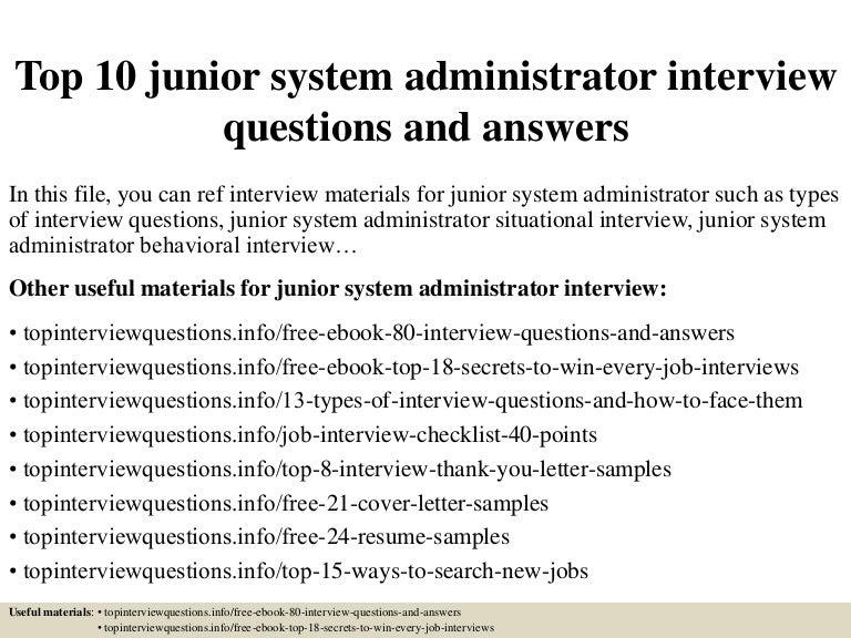 application letter for system administrator