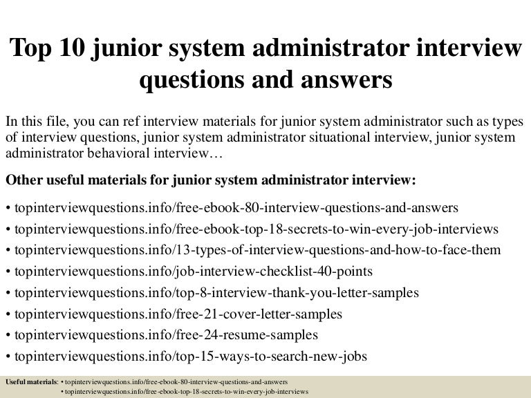 top10juniorsystemadministratorinterviewquestionsandanswers-150322085912-conversion-gate01-thumbnail-4.jpg?cb=1427032799