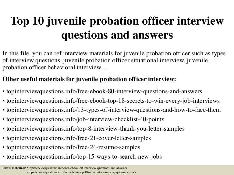 cover letter for us probation officer Hello: i am applying for probation officer assistant the instructions for application call for a narrative statement in addition to the cover letter and resume.