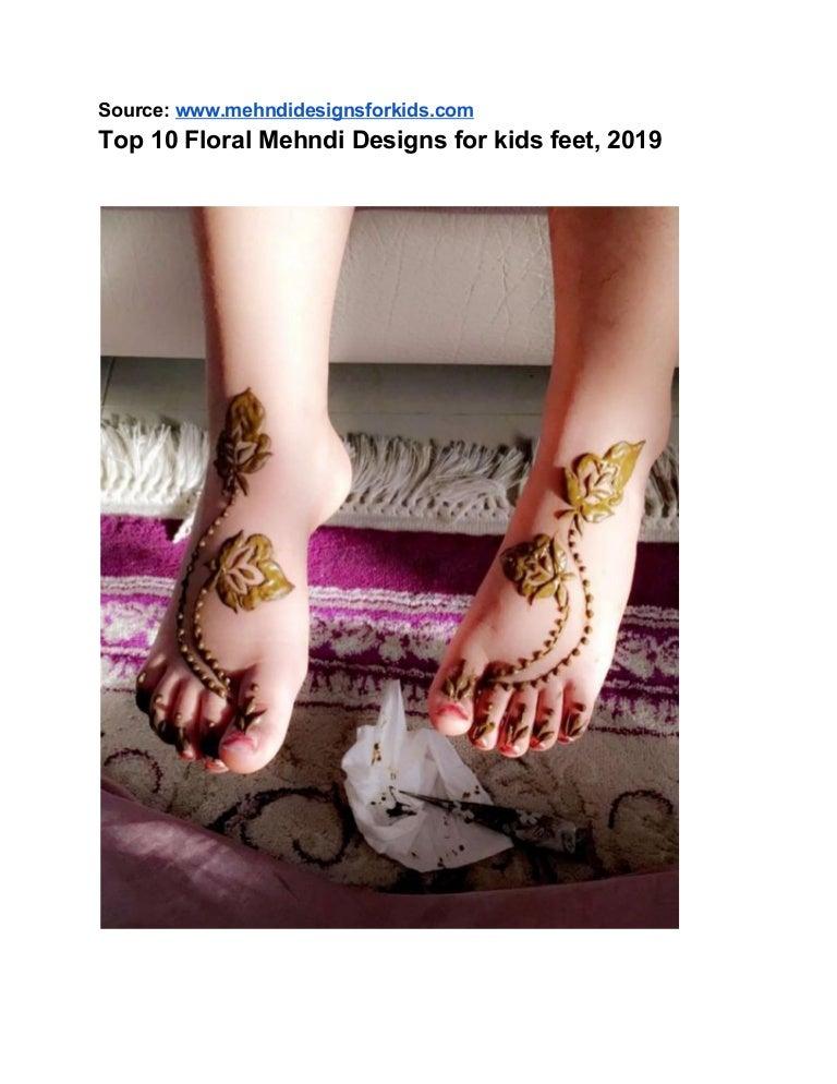 Top 10 Mehndi Designs For Kids Feet 2019,Watercolor Tattoo Designs For Men