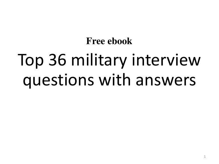 Top 36 military interview questions with answers pdf fandeluxe Choice Image