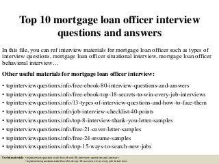 Mortgage Loan Officer Job Description Sample RecentResumes Com