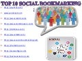 Top 10 most popular social bookmarking websites