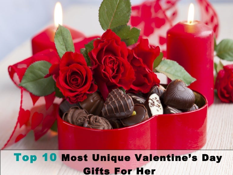 Top 10 most unique valentine's day gifts for her