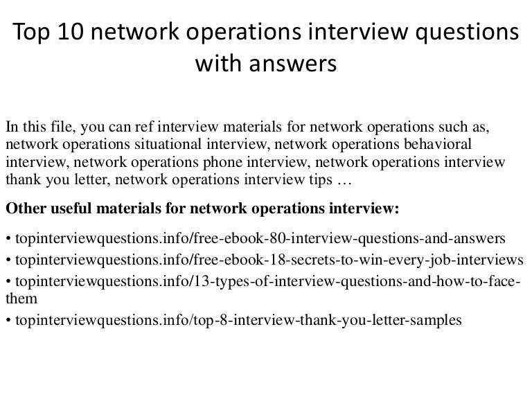 Top10Networkoperationsinterviewquestionswithanswers-141219025926-Conversion-Gate02-Thumbnail-4.Jpg?Cb=1418957995