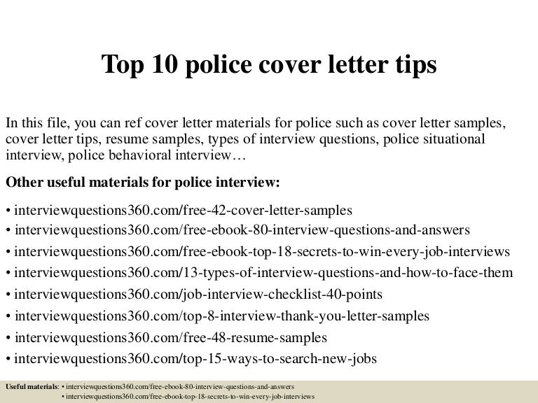 top10policecoverlettertips150404152244conversiongate01thumbnail4jpgcb 1428161026 – Police Cover Letters