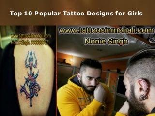 Top 10 popular tattoo designs for girls