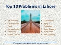 Top 10 Problems in Lahore
