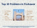 Top 10 Problems in Peshawar
