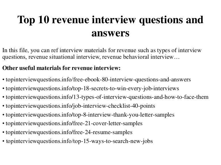 Revenue Accountant Sample Resume] Sample Resume For Revenue ...