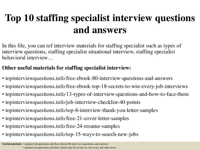 top10staffingspecialistinterviewquestionsandanswers150322050004conversiongate01thumbnail4jpgcb 1427018455 – Personal Trainer Interview Questions