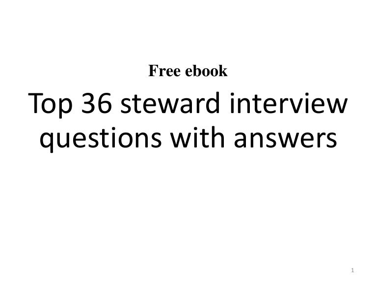 top 36 steward interview questions with answers pdf - Event Coordinator Interview Questions And Answers