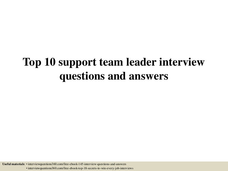team leader interview questions in bpo