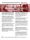 Top 10 Tips for Volunteer Posting