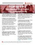 Top 10 Tips for Volunteer Posting