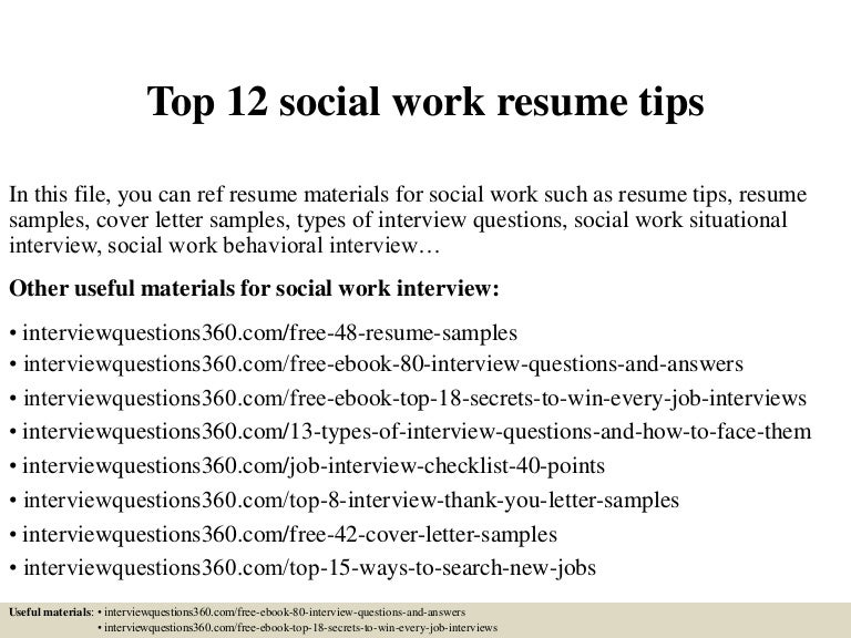 top12socialworkresumetips 150503222227 conversion gate02 thumbnail 4jpgcb1430691928
