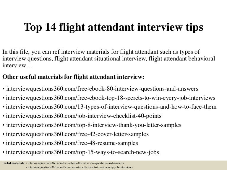 top14flightattendantinterviewtips 150402034658 conversion gate01 thumbnail 4jpgcb1427946491 - Flight Attendant Interview Questions Interview Tips And Answers