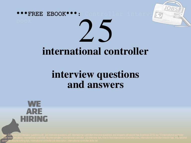 Top 25 international controller interview questions and ...