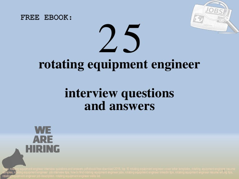 Top 25 rotating equipment engineer interview questions and ...