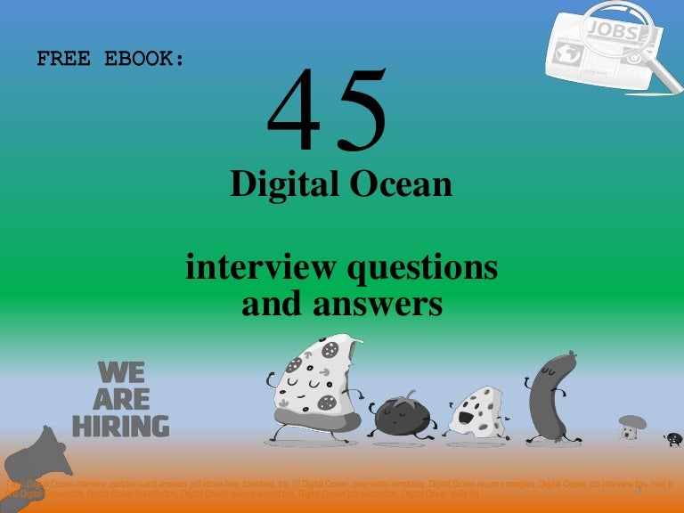 Top 45 Digital Ocean interview questions and answers pdf