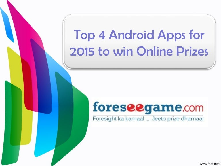 Best Apps To Win Prizes