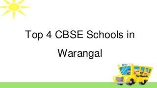 Best CBSE Schools in Warangal Hanamkonda