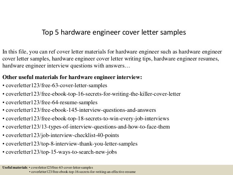 hardware test engineer sample resume - Template