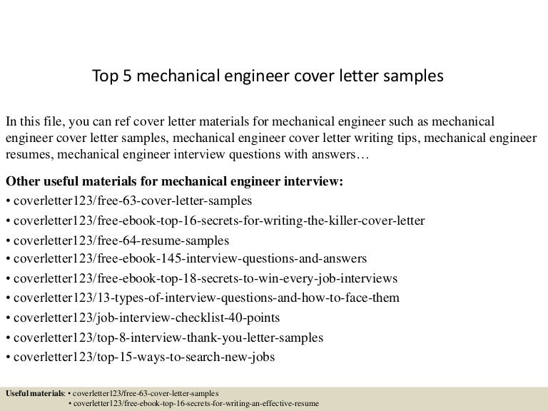 best resume for mechanical engineer
