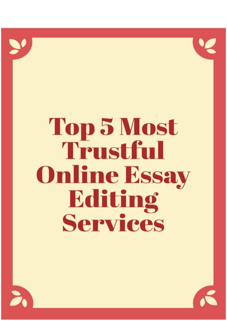 Best paper editing services