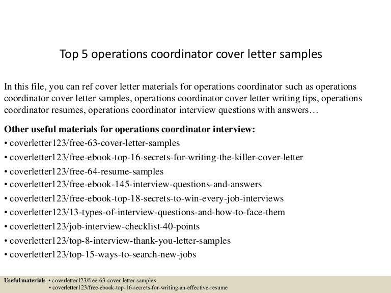 top5operationscoordinatorcoverlettersamples 150620032532 lva1 app6892 thumbnail 4 jpg cb 1434770795