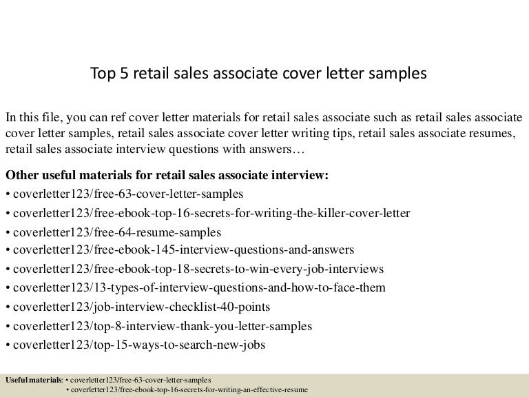 Quirky Cover Letter Examples Sales Associate Sales. Unforgettable