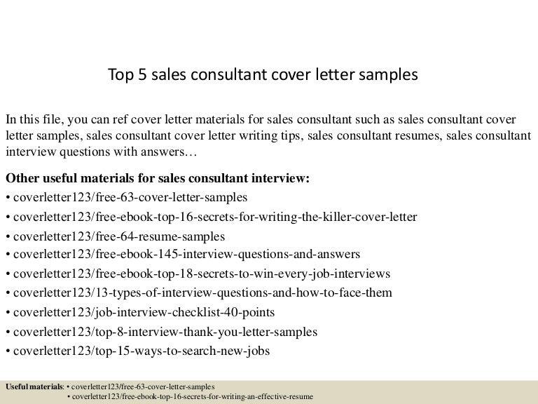 Top5Salesconsultantcoverlettersamples-150618025941-Lva1-App6892-Thumbnail-4.Jpg?Cb=1434596435