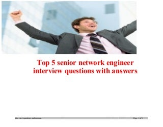 senior network engineer linkedin - Network Engineer Interview Questions And Answers