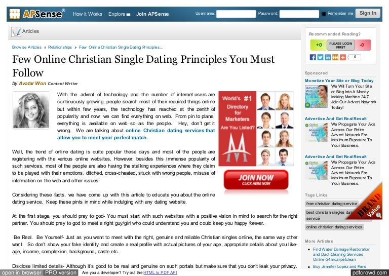 How to stop dating site adverts