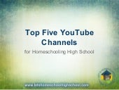 Top 5 YouTube Channels for Homeschooling High School