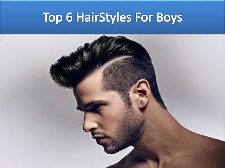 Top 6 Hair Styles For Boys