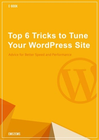 Top 6 Tricks to Tune Your WordPress Site