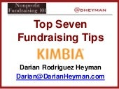 Top 7 Fundraising Tips