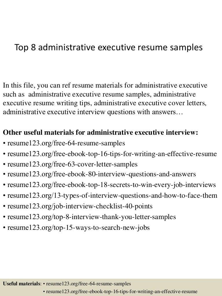 examples administrative resumes bilingual enterprise examples administrative resumes topadministrativeexecutiveresumesamples conversion gate thumbnail