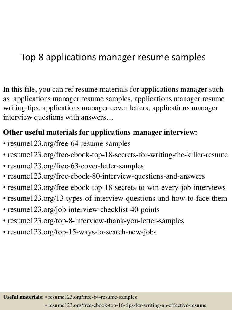 Pretty Application Manager Resume Examples Photos Entry Level