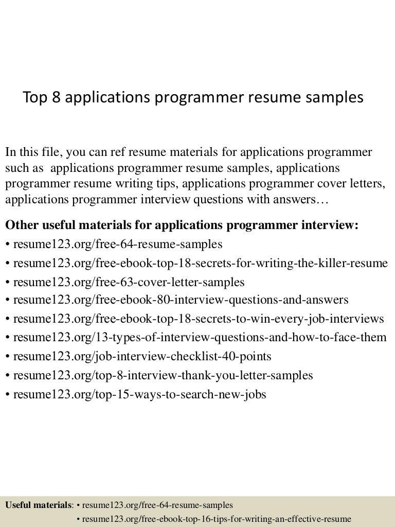 top8applicationsprogrammerresumesamples-150527130918-lva1-app6892-thumbnail-4.jpg?cb=1432732230
