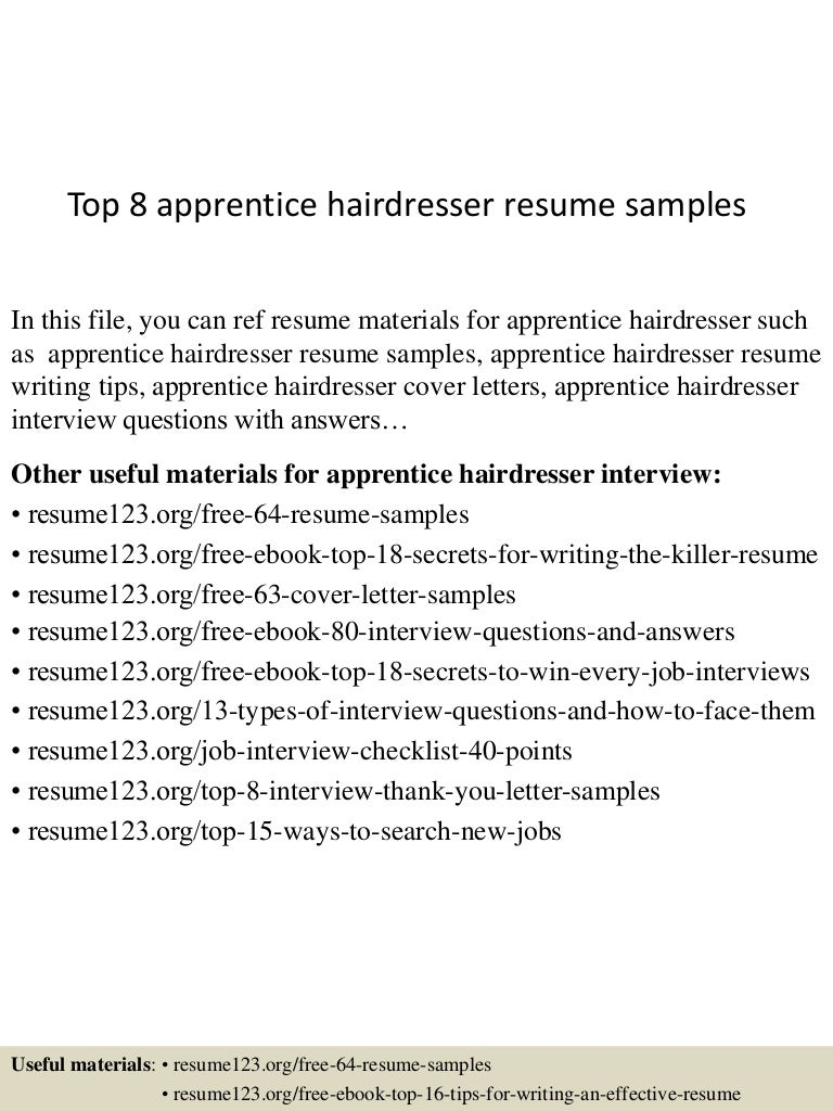 Hairdressing Cover Letter Choice Image - Cover Letter Ideas