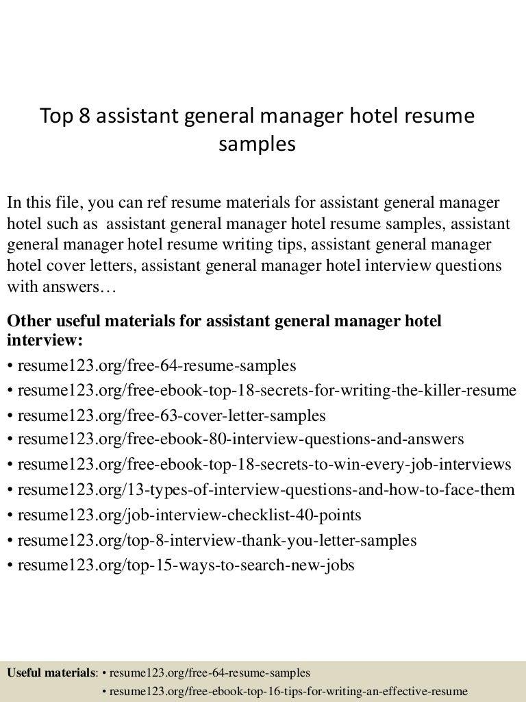 topassistantgeneralmanagerhotelresumesamples lva app thumbnail jpg cb