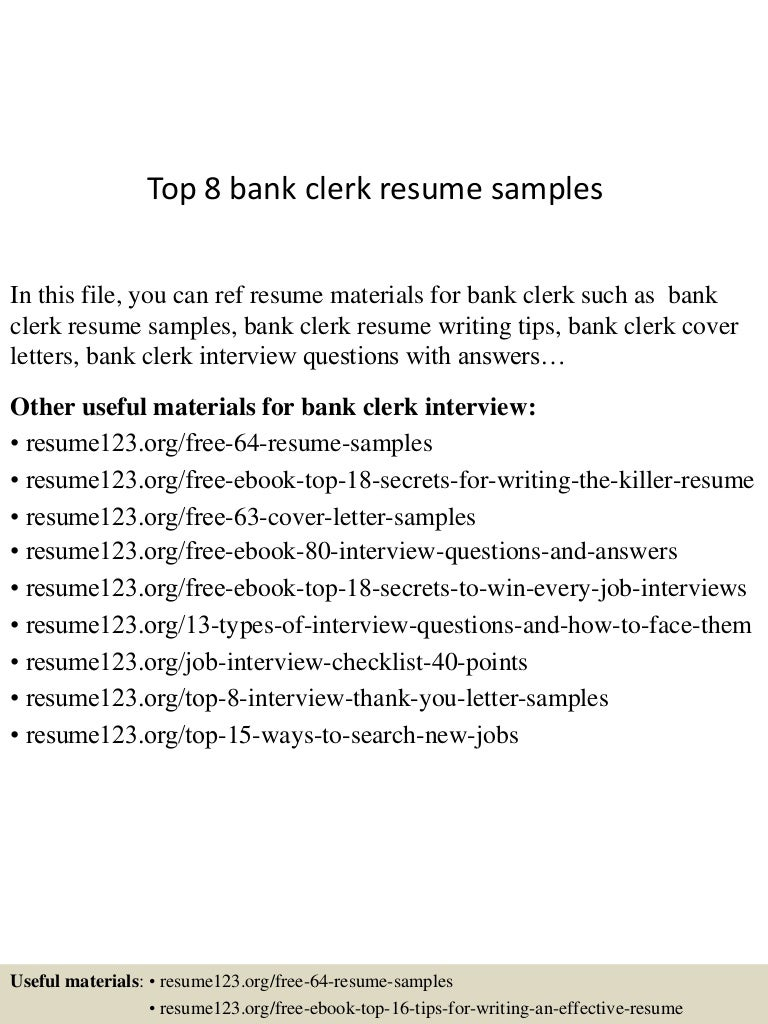 resume samples for bank jobs converza co