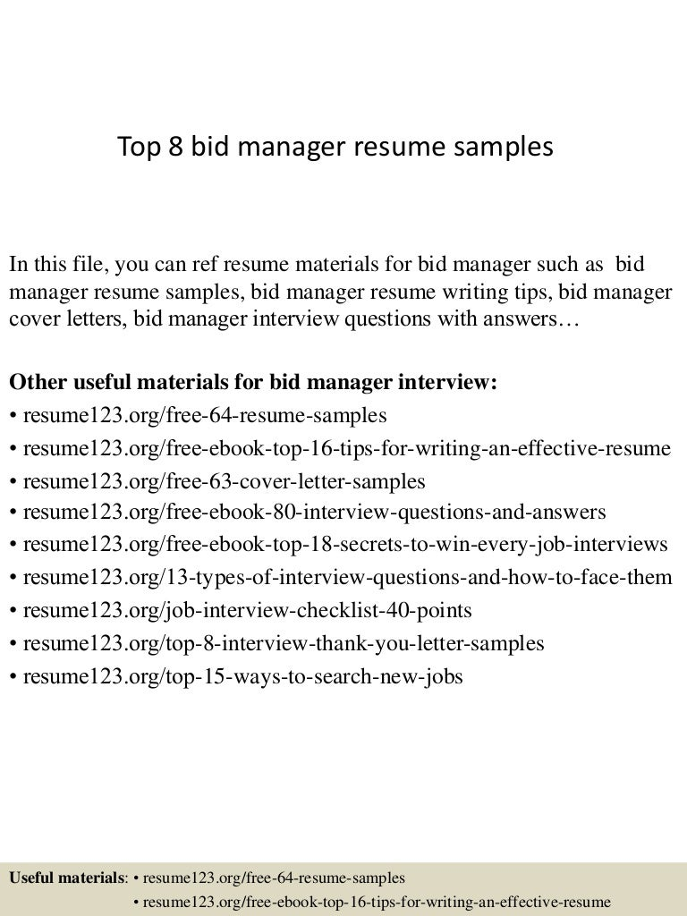Bid Manager Cover Letter Meteorologist Sample Resume Editable