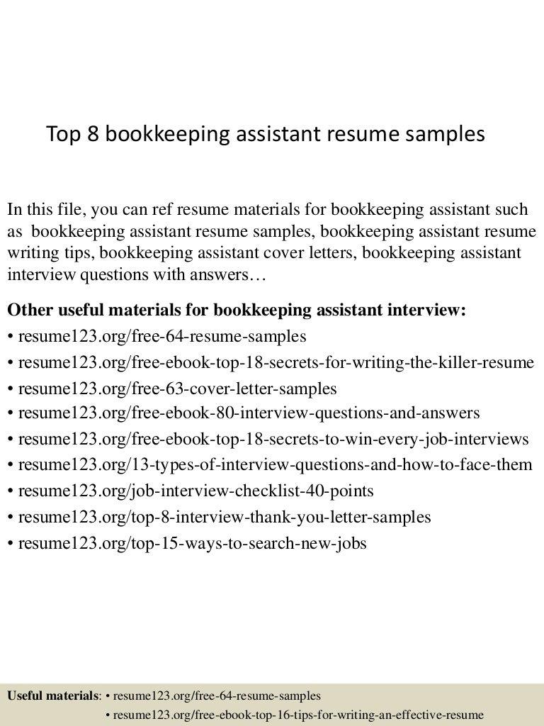 topbookkeepingassistantresumesamples lva app thumbnail jpg cb