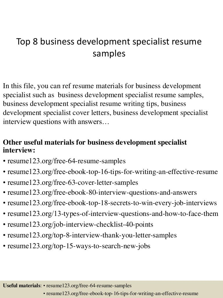 topbusinessdevelopmentspecialistresumesamples conversion gate thumbnail jpg cb