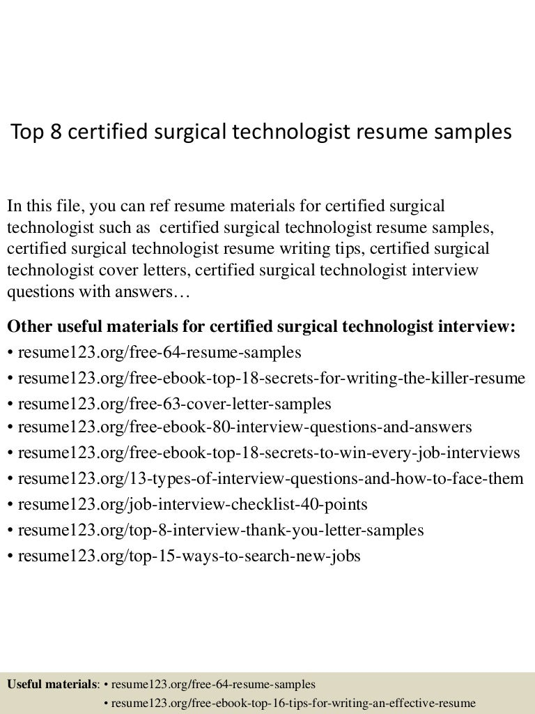 Surgical tech resume samples | velvet jobs.