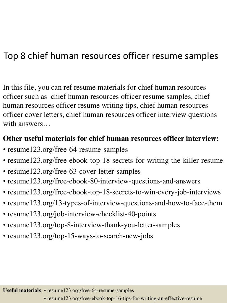 Top8chiefhumanresourcesofficerresumesamples 150515024620 lva1 app6892 thumbnail 4gcb1431658027 spiritdancerdesigns Image collections