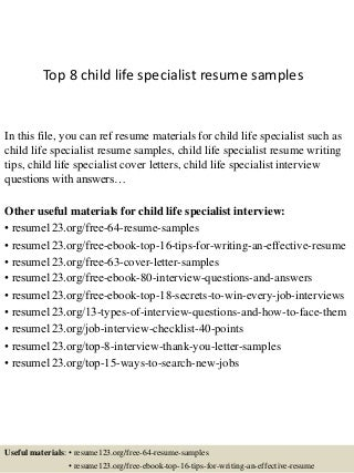 best child life resume ideas top resume revision worksheet